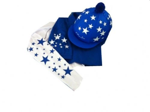 Children's Royal/White  Base Layer, polo and silk